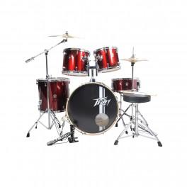 Peavey PV 5PC Drum Set Wine Red