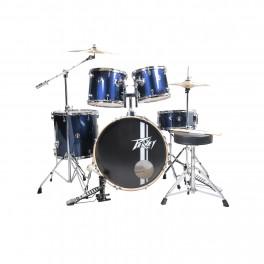 Peavey PV 5PC Drum Set Blue